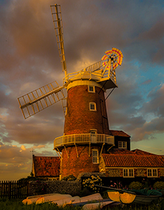 Albert Moore Cley Mill at Dusk websize