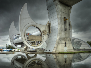 The Falkirk Wheel Mike Williamson web page size